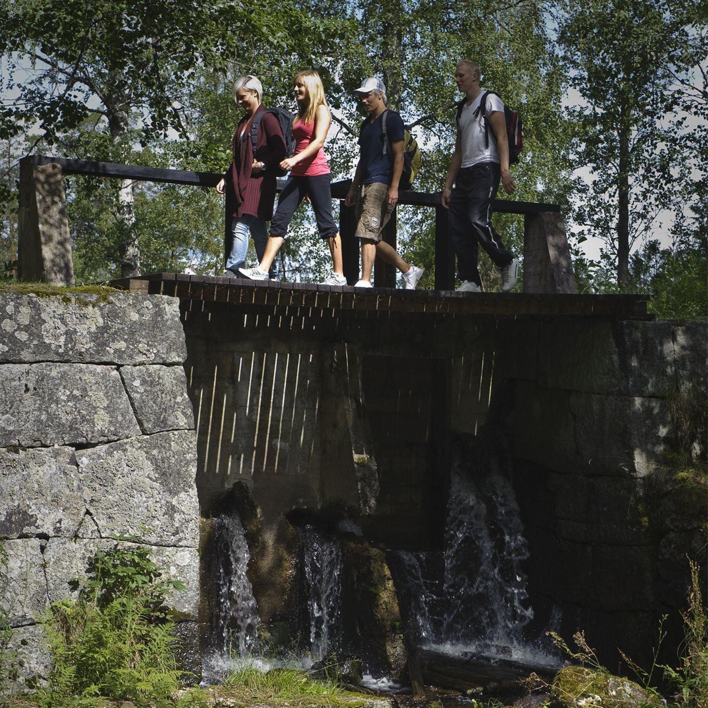 foto: Gomer,  © Copyright, Pråmleden - vandringsled