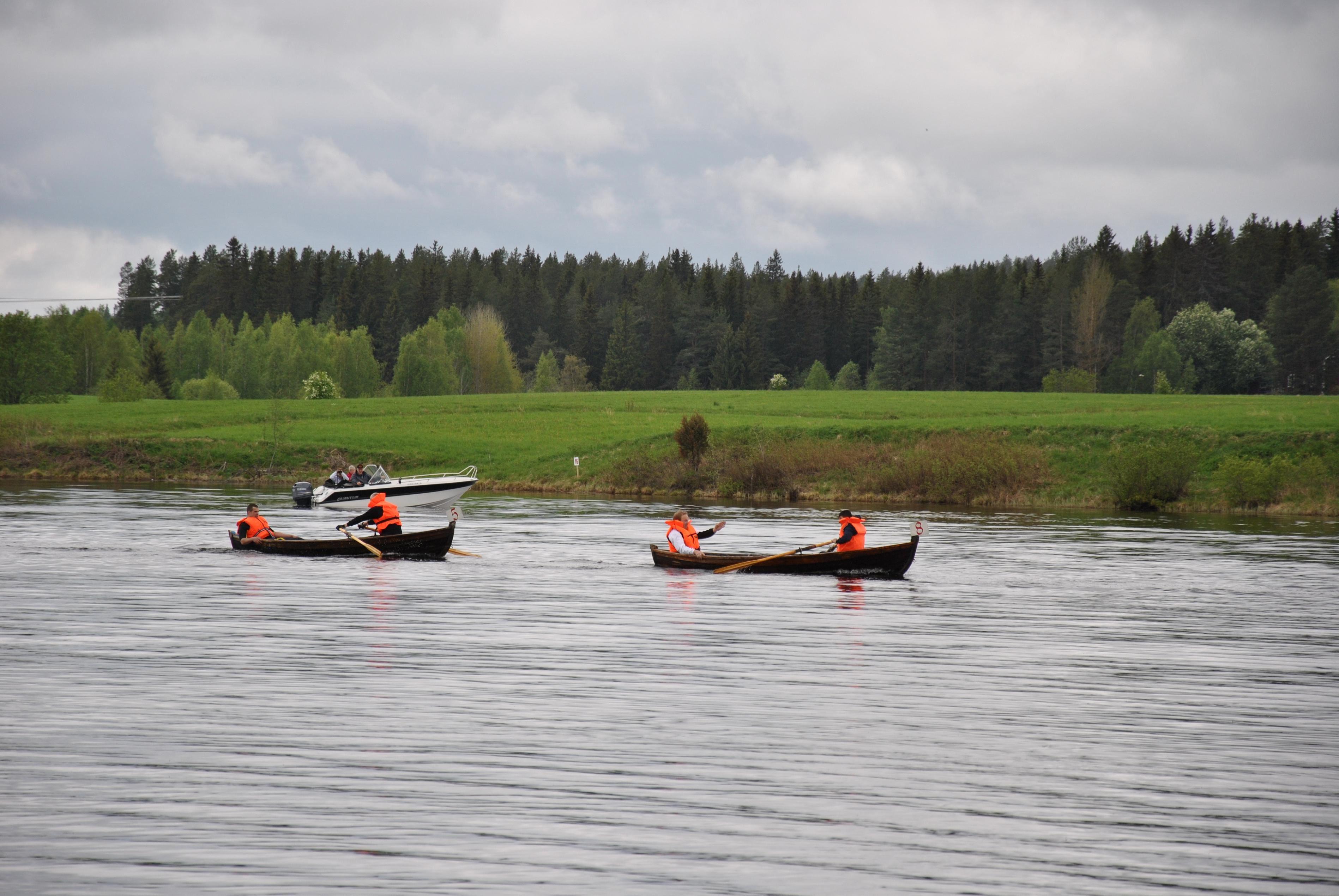 Agnetha Perman, Flottarrännet i Långsele