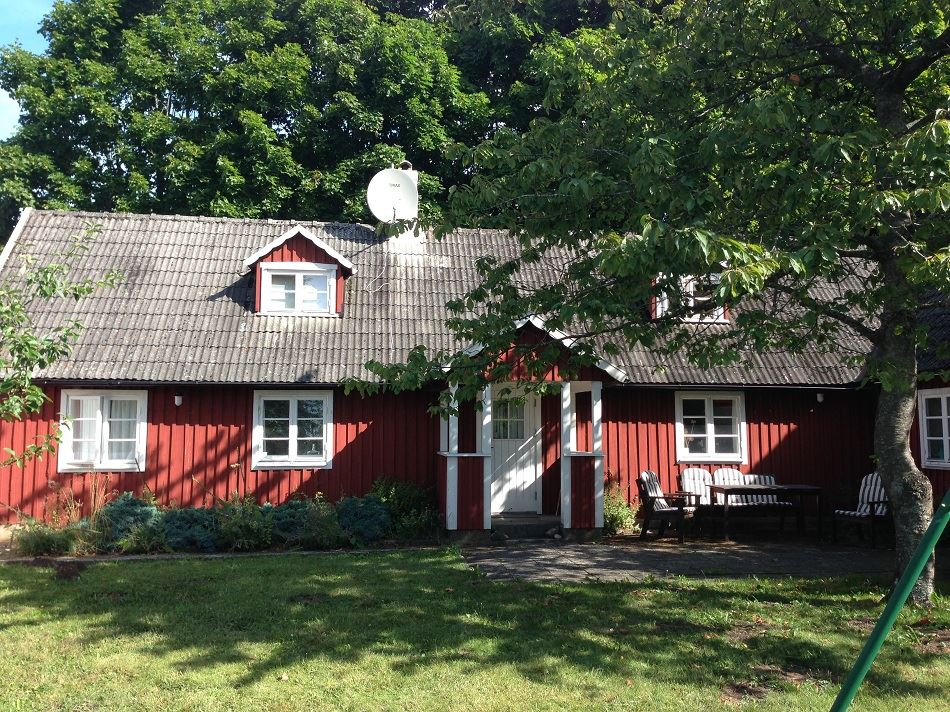 Välutrustat hus med idylliska omgivningar norr om Brösarp, Si9045 Torasteröd