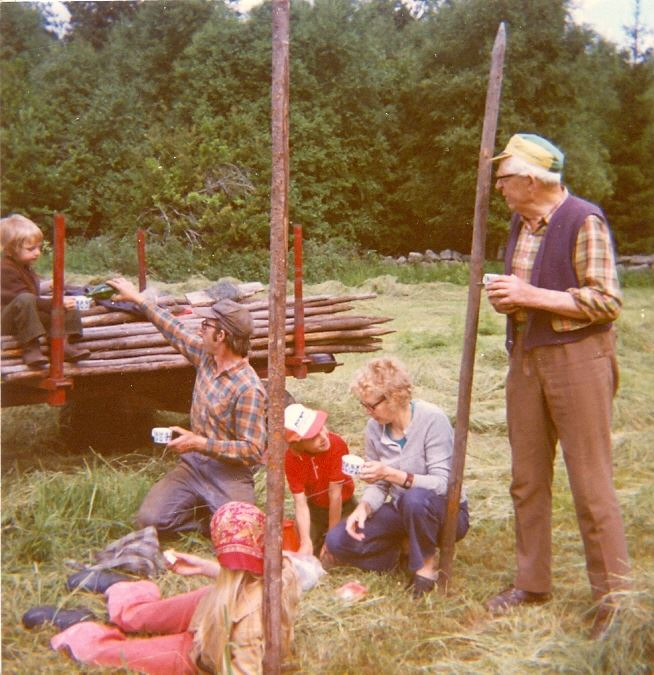 © Simontorp Konsult AB, Höhässjning i Simontorp ca 1975