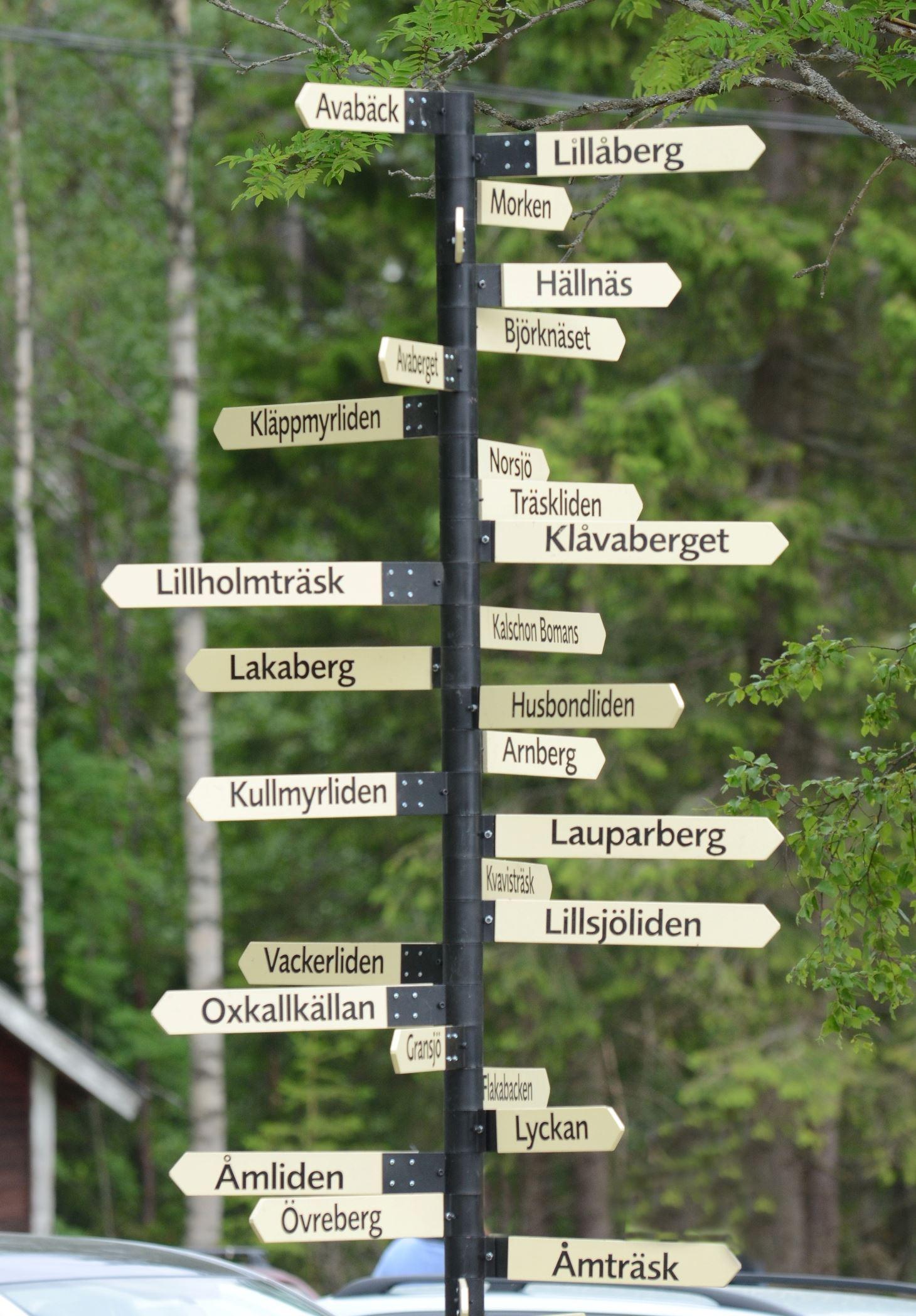 Raggsjöliden - Torgny Lindgren's literary landscape