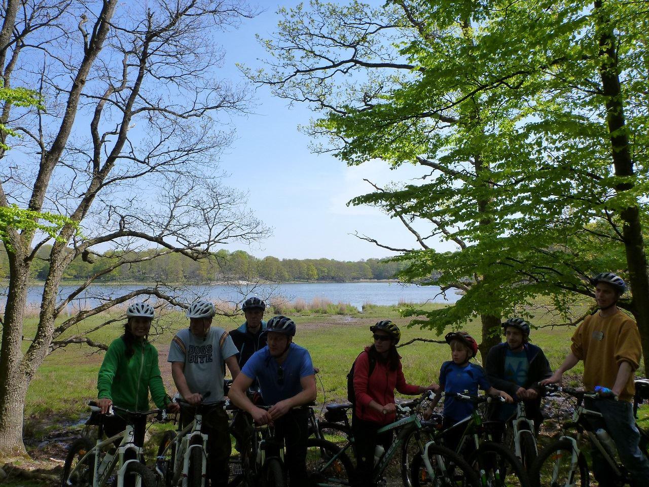 Cykelsafari bland vilda djur
