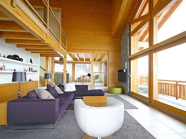Feriehus for opp til 8 personer med 5 rom på Les Roches - Nendaz