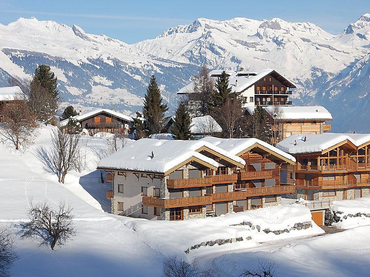 Lägenhet för upp till 10 personer med 7 rum på Le Rocher - Nendaz