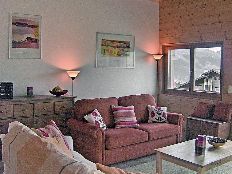 Leilighet for opp til 8 personer med 4 rom på Grands Ducs - Nendaz