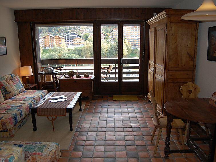 Leilighet for opp til 2 personer med 1 rom på Les Terrasses du Soleil - Nendaz