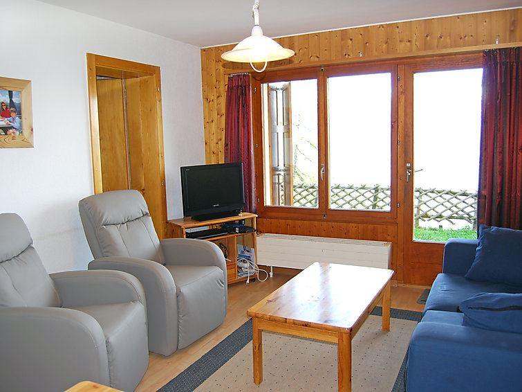 Lägenhet för upp till 6 personer med 3 rum på Bellevue L - Veysonnaz