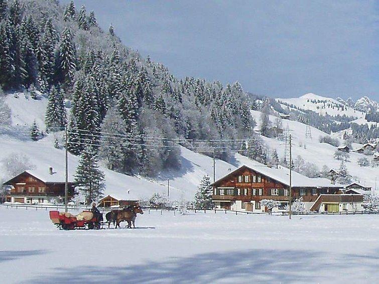 Lägenhet för upp till 2 personer med 2 rum på Baumerhus - Gstaad