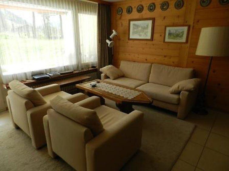 Lägenhet för upp till 4 personer med 2 rum på La Sarine 20 - Gstaad