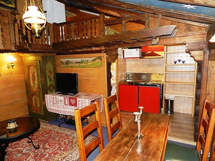 Lägenhet för upp till 2 personer med 1 rum på Le Vieux Chalet - Gstaad