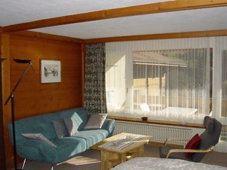 Lägenhet för upp till 2 personer med 1 rum på La Sarine 213 - Gstaad