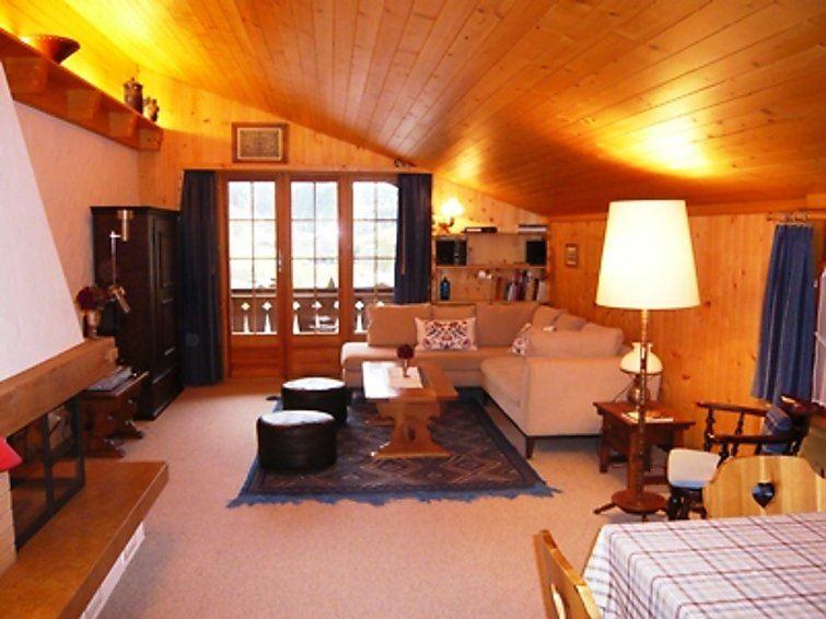 Lägenhet för upp till 4 personer med 3 rum på Hornfluh - Saanen
