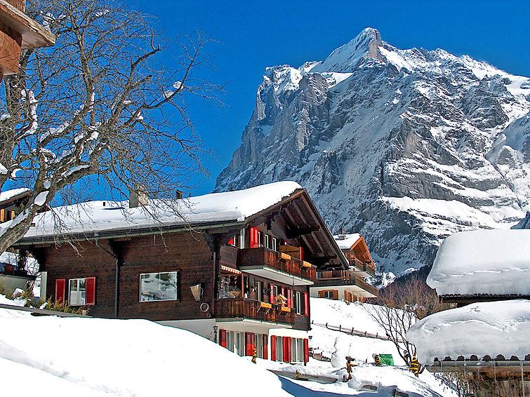 Lägenhet för upp till 2 personer med 1 rum på Bärgsunna - Grindelwald
