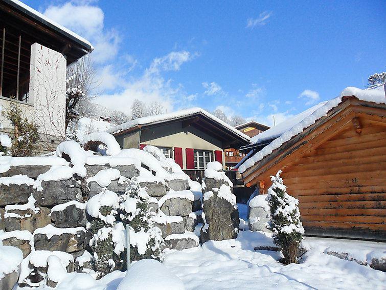 Semesterhus för upp till 2 personer med 2 rum på Pfaffenstöckli - Grindelwald