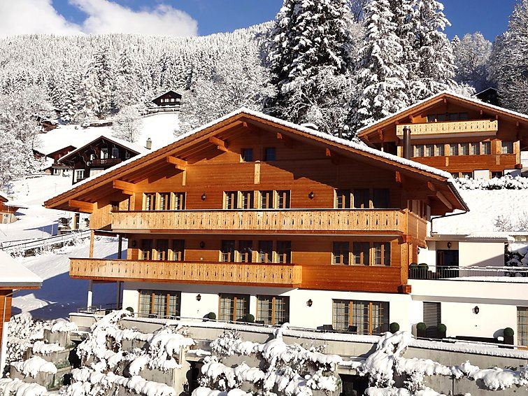 Lägenhet för upp till 2 gäster med 1 rum på Chalet Rotstöcki - Grindelwald
