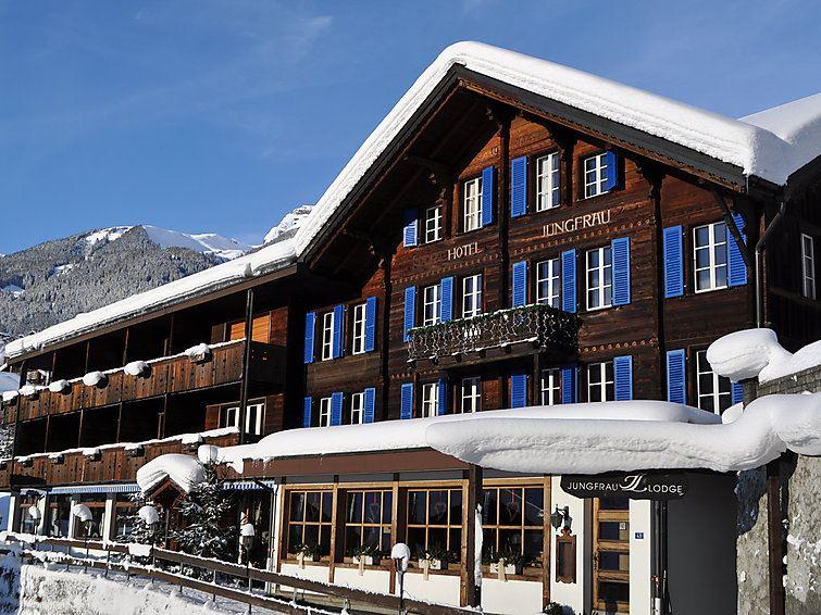 Lägenhet för up till 8 personer med 5 rum på Jungfraulodge - Grindelwald