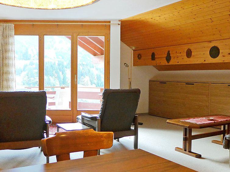 Lägenhet för upp till 4 personer med 2 rum på Eiger - Wengen