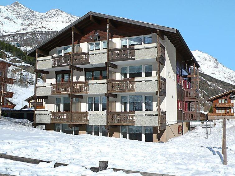 Lägenhet för upp till 2 personer med 1 rum på Amici - Saas Grund