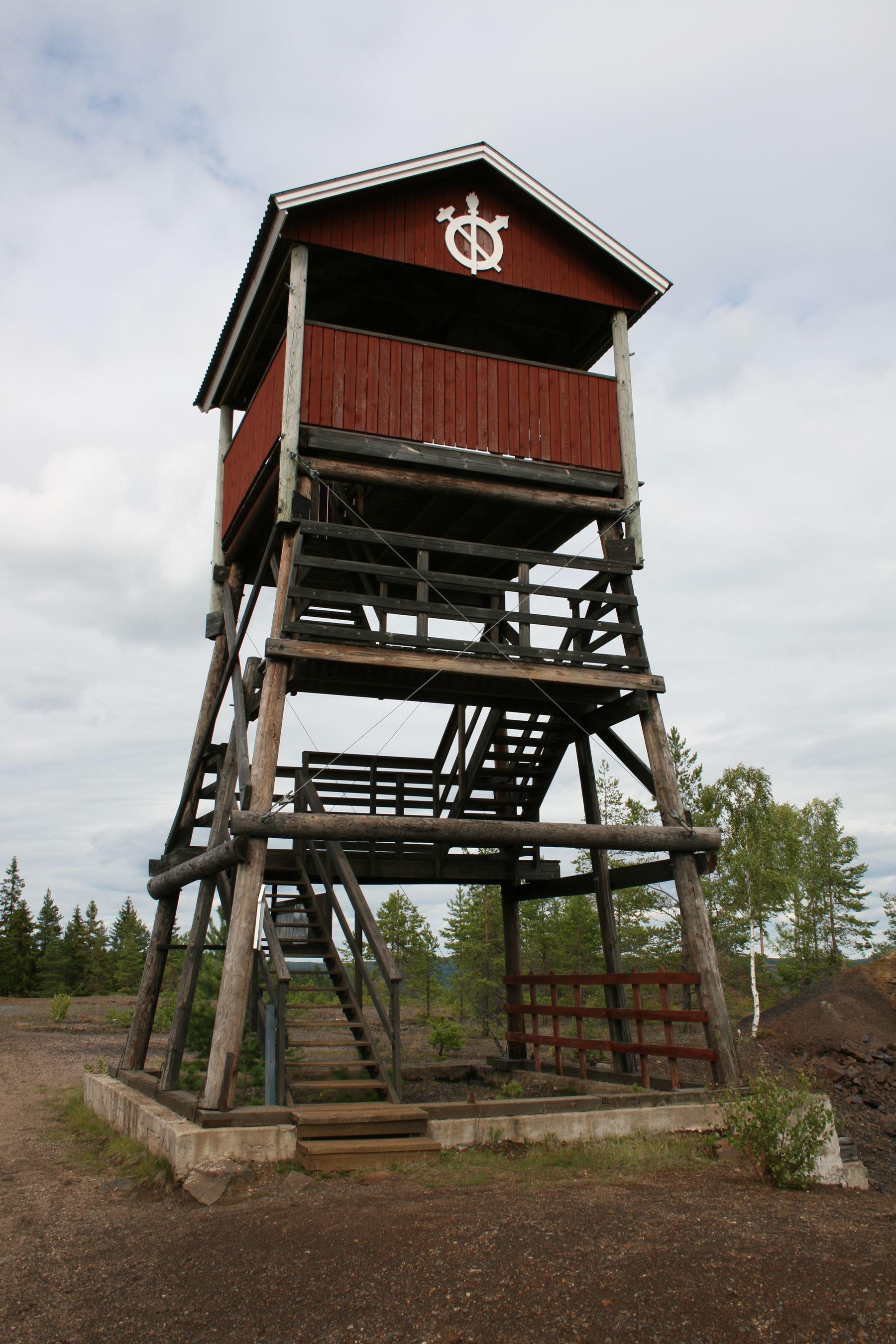 foto: Pia Wallner, Stollbergs gruvområde - f d Väster Silfberg