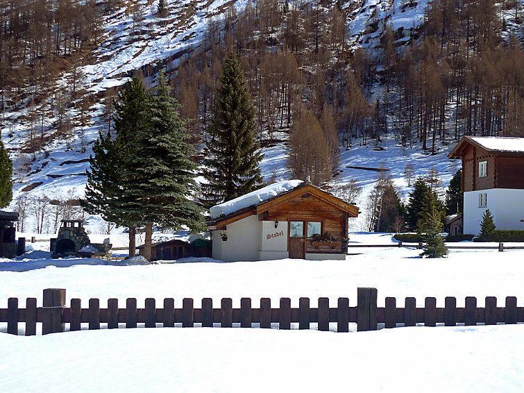 Semesterhus för upp till 2 personer med 1 rum på Stadel - Saas Grund