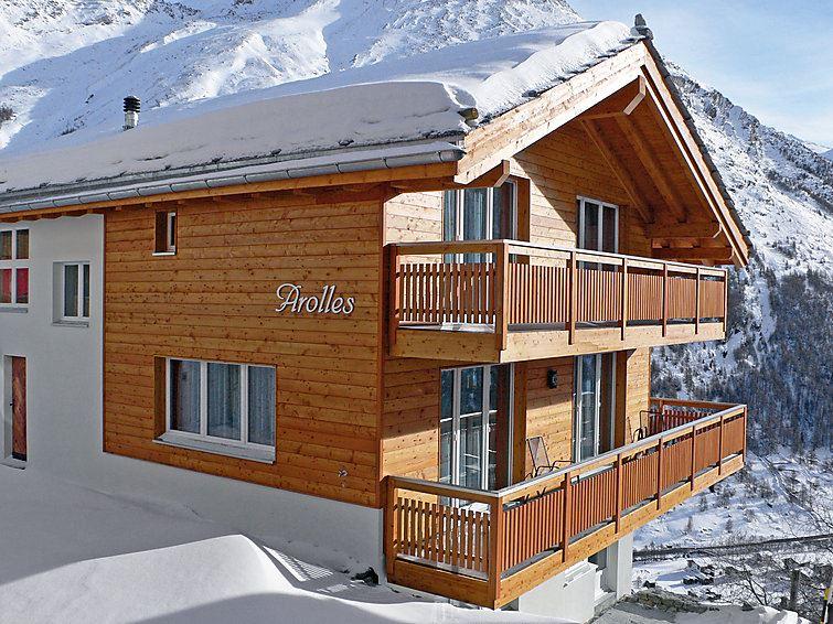 Lägenhet för upp till 10 personer med 6 rum på Arolles - Saas-Fee
