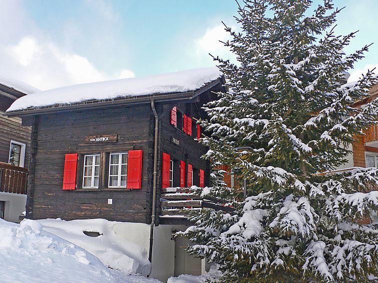 Semesterhus Antika för upp till 5 personer med 3 rum på - Saas-Fee