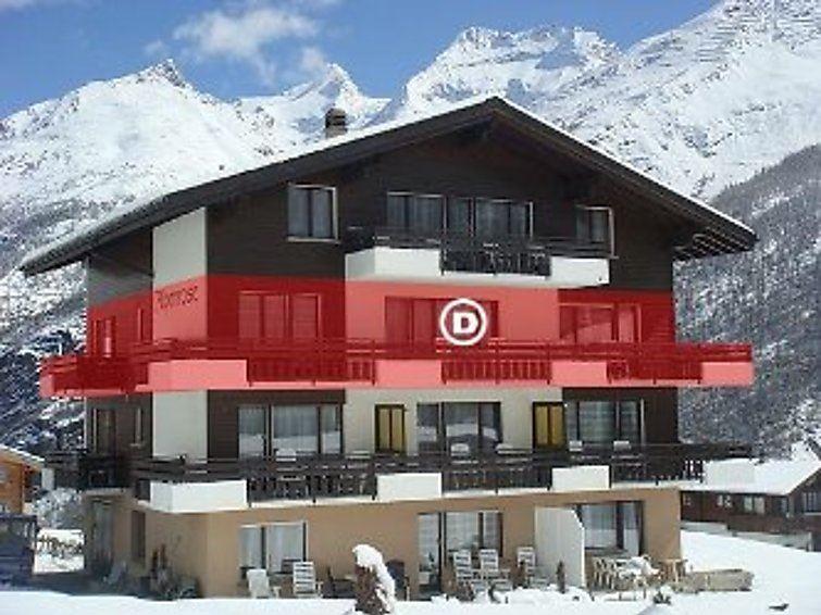 Lägenhet för upp till 10 personer med 5 rum på Alpenrose - Saas-Fee