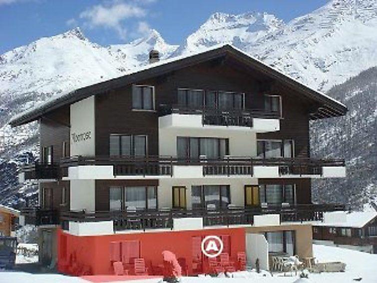 Lägenhet fär upp till 6 personer med 2 rum på Alpenrose - Saas-Fee