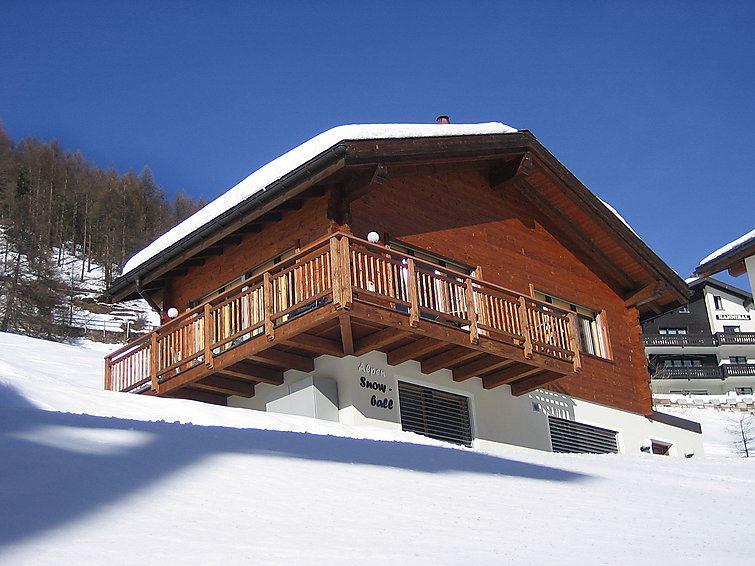 Semesterhus Alpin-Snowball för upp till 6 personer med 4 rum - Saas-Fee