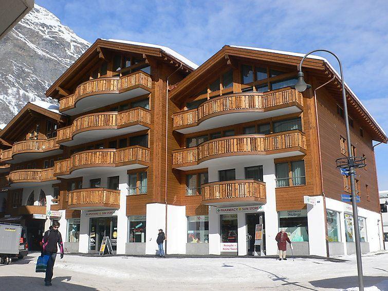 Lägenhet för upp till 2 peroner med 1 rum på Zur Matte B - Zermatt