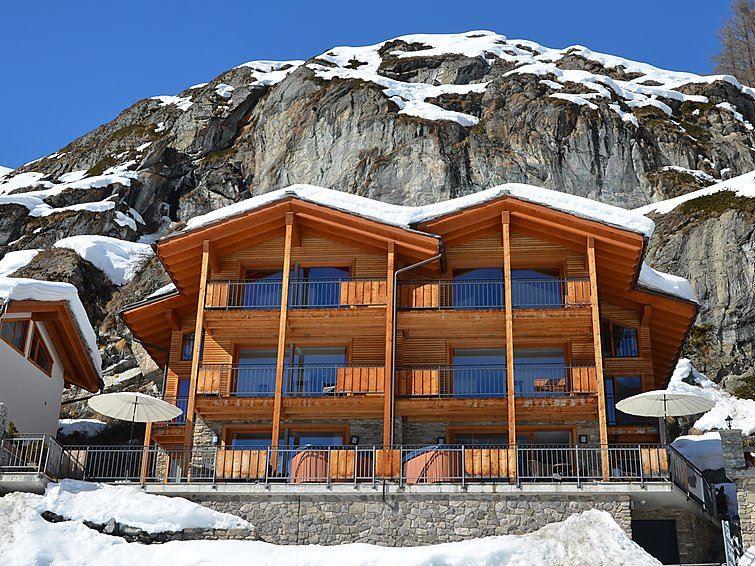 Semesterhus Chalet Castor för upp till 8 personer med 5 rum - Zermatt
