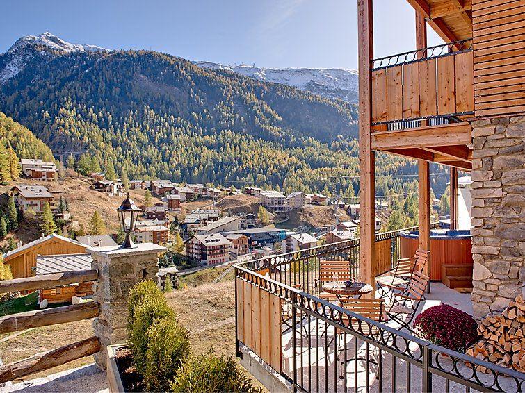 Semesterhus Chalet Pollux för upp till 8 personer med 5 rum - Zermatt