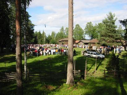 Midsommar på Järna Hembygdsgård