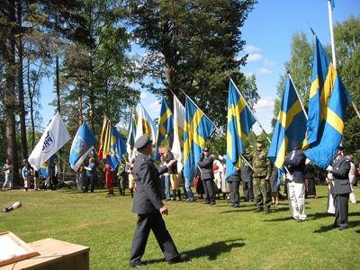 Nationaldagsfirande på Järna hembygdsgård