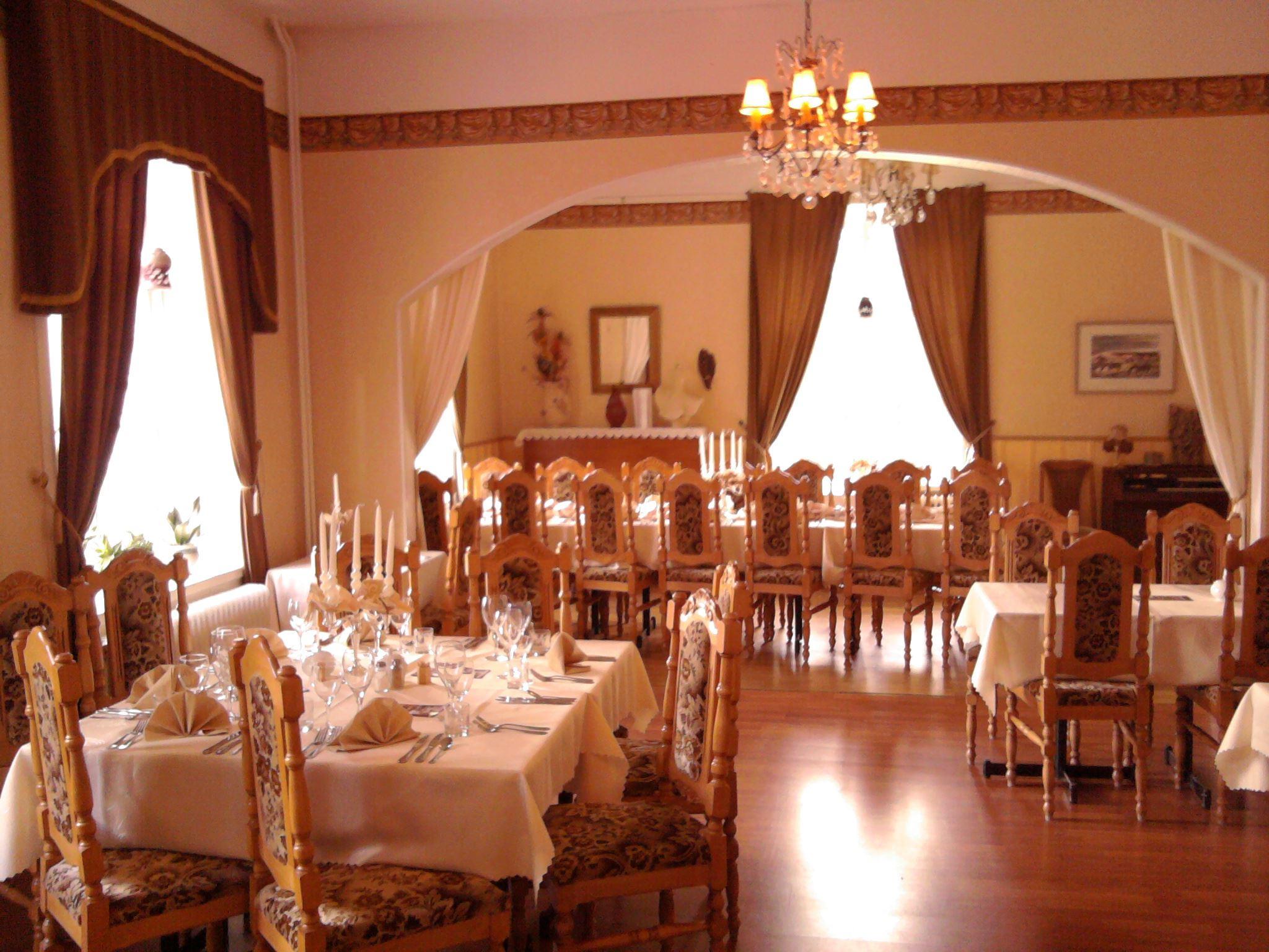 Bild på den vackra restaurangen