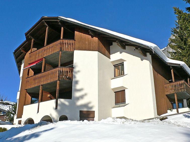 Lägenhet för upp till 2 personer med 1 rum på Crap Grisch (Utoring) - Flims