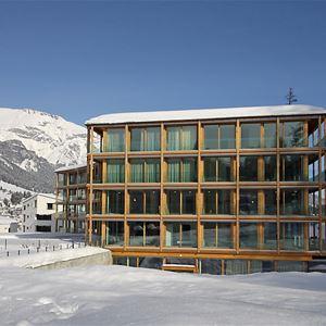 Leilighet for opp til 8 personer med 5 rom på The Mountain Suites-Promenade Flem - Flims