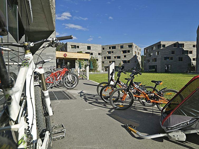 Leilighet for opp til 8 personer med 5 rom på Rocksresort - Laax