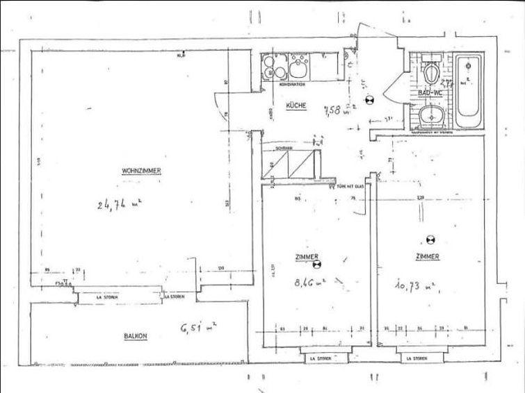 Leilighet for opp til 5 personer med 3 rom på Cristallina I WG 11 - Laax-Uletsch
