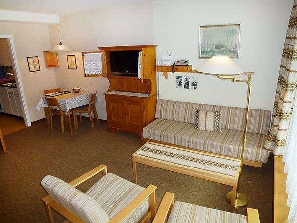 Lägenhet för upp till 2 personer med 1 rum på Jenatsch (Utoring) - Davos