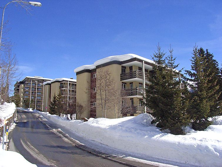 Lägenhet för upp till 2 peroner med 2 rum på Allod-Park - Davos