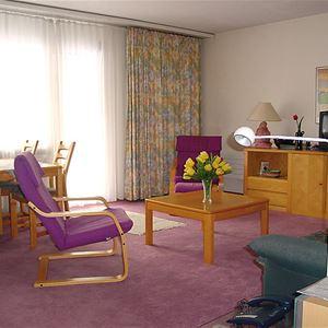Lägenhet för upp till 4 personer med 2 rum på Allod-Park - Davos