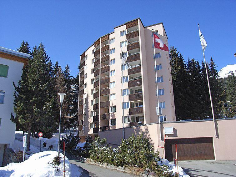 Lägenhet för upp till 2 personer med 1 rum på Parkareal (Utoring) - Davos