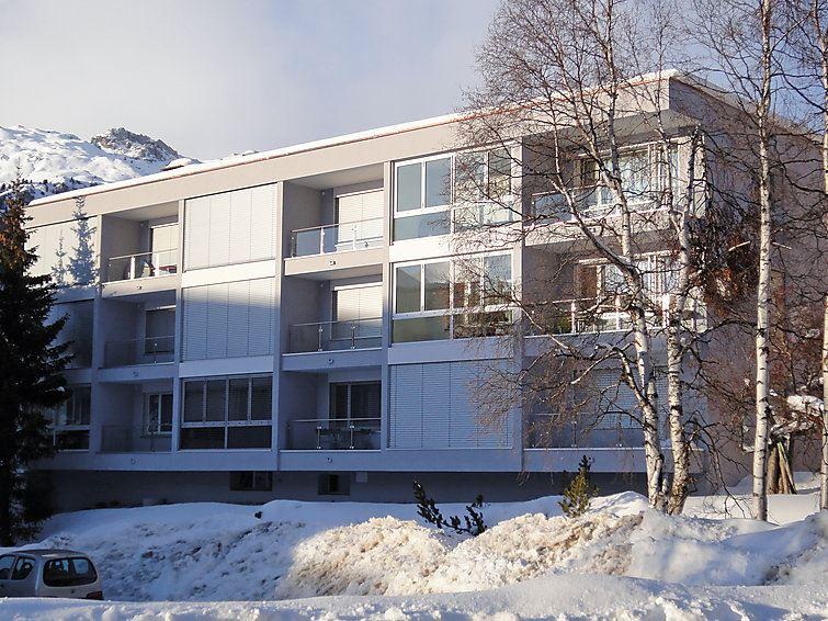 Lägenhet för upp till 2 personer med 2 rum på Fleury - St. Moritz