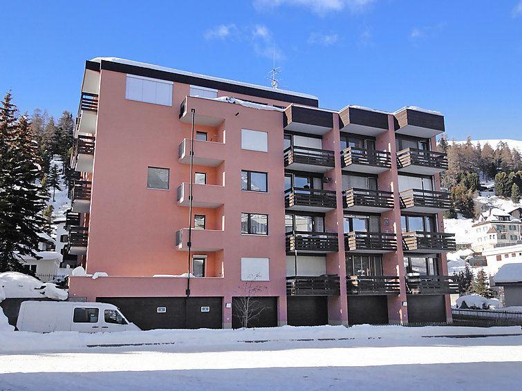 Lägenhet för upp till 2 personer med 1 rum på Corvatsch - St. Moritz