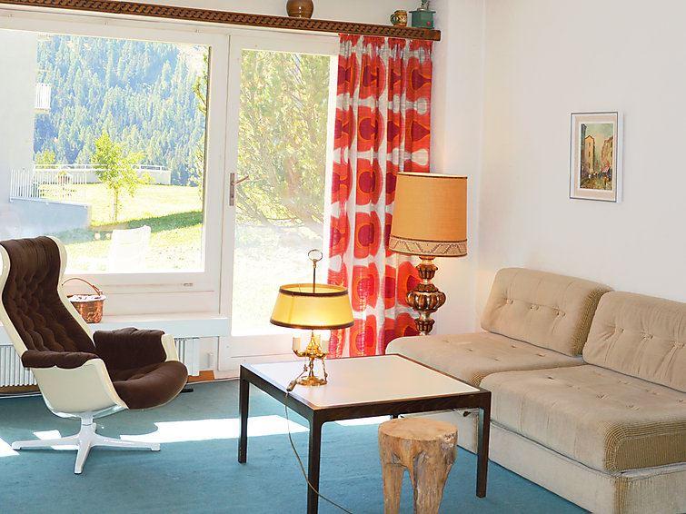 Lägenhet för upp till 2 personer med 1 rum på Surlej - St. Moritz