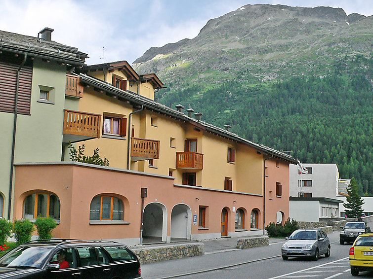 Lägenhet för upp till 3 personer med 2 rum på Ludains - St. Moritz