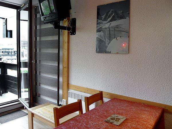 Lägenhet för upp till 5 personer med 1 rum på Home Club i Tignes