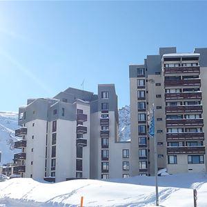 Lägenhet för upp till 4 personer med 1 rum på Le Slalom - Tignes