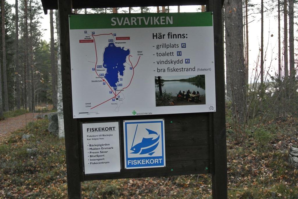 Bäcksjön nature area
